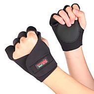 Sporthandschuhe Halbe Finger Einfaches An- und Ausziehen Videokompression Atmungsaktiv für Freizeit-Radfahren Übung & Fitness Bergsteigen