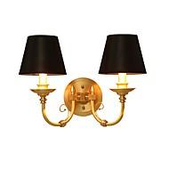 baratos Arandelas de Parede-Tifani / Simples / Regional Luminárias de parede Tecido Luz de parede 110-120V / 220-240V 5W