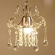 tanie -Kryształ Lampy widzące Downlight Malowane wykończenia Metal Kryształ, Zawiera żarówkę 110-120V / 220-240V Ciepła biel Zawiera żarówkę / E26 / E27