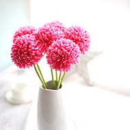 cebola bola verde artificial hortênsia flor 5 ramo