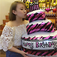 baloane folie fericit ziua de nastere decoratiuni ziua de nastere tort baloane partid