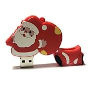 Χαμηλού Κόστους Christmas Gifts-32gb χριστουγεννιάτικο αυτοκίνητο usb φλας κινουμένων σχεδίων δημιουργικό santa claus Χριστουγεννιάτικο δώρο usb 2.0