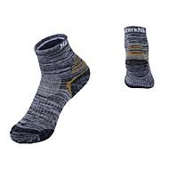 גרבי ספורט גרביים לריצה יוניסקס ייבוש מהיר נשימה מתיחה-זוג 1 ל ריצה חוץ