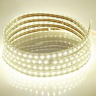 abordables -15m 220v higt lumineux led strip éclairage flexible 5050 900smd trois cristal lumières barre de lumière imperméable à l'eau de jardin avec