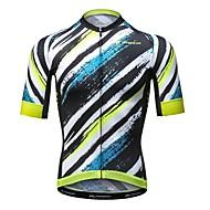 hesapli MYSENLAN®-Mysenlan Bisiklet Forması Erkek Kısa Kollu Bisiklet Forma Bisiklet Elbiseleri Hızlı Kurulama Moda Yol Bisikletçiliği Eğlence