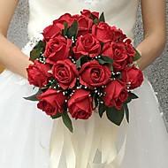 "esküvői virágok csokrok esküvői selyem 9.84 ""(kb.25cm) esküvői kellékek"