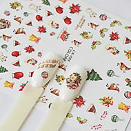 3d nail stickers nail art search lightinthebox 1 nail art sticker pattern accessories art decoretro 3d nail stickers cartoon 3 d christmas sticker diy supplies makeup cosmetic nail prinsesfo Gallery