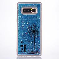 Θήκη Za Samsung Galaxy S tekućinom Uzorak Stražnja maska Maslačak Tvrdo PC za Note 8 Note 5 Note 4 Note 3