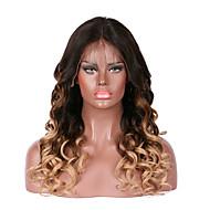 Păr Remy Față din Dantelă Perucă Păr Brazilian Ondulee Largi Perucă 130% Densitatea părului cu păr de păr pentru Femei de Culoare 100% Virgin Pentru femei Lung Peruci Păr Uman Luckysnow