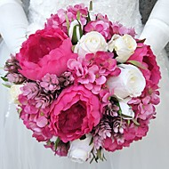"Wedding Flowers Bouquets Wedding Polyester 9.84""(Approx.25cm)"