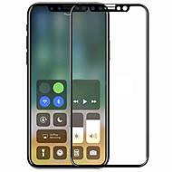 זכוכית מחוסמת מגן מסך ל Apple iPhone X מגן מסך מלא קשיחות 9H הוכחת פיצוץ עמיד לשריטות 3 קצה מעוגלD