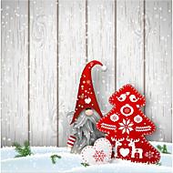 5 * 7ft stor fotografering bakgrunn bakgrunn klassisk mote jul snø tema for studio profesjonell fotograf