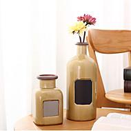 billige Kunstige blomster-europeiske moderne minimalistiske møbler dekorasjonstabell hjemmeinnredning stor keramisk tørr blomstervase