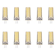 baratos Luzes LED de Dois Pinos-10pçs 4W 80lm G4 Luminárias de LED  Duplo-Pin 1 Contas LED COB Branco Quente Branco Frio 220-240V