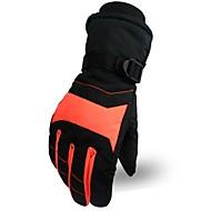 Γάντια του σκι Ανδρικά Γυναικεία Ολόκληρο το Δάχτυλο Διατηρείτε Ζεστό Προστατευτικό Ύφασμα Βαμβάκι Χειμερινά Σπορ Χειμώνας