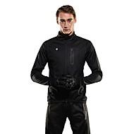 Χαμηλού Κόστους SPAKCT®-SPAKCT Ανδρικά Μπουφάν ποδηλασίας Ποδήλατο Καλοκαίρι Μπουφάν Φλις Αντιανεμικό Μονόχρωμο Spandex, Coolmax®, Ελαστίνη Χειμώνας Μαύρο / Σκούρο γκρι Αγωνιστικά Ποδηλασία Βουνού Χαλαρή στολή / Προβιά