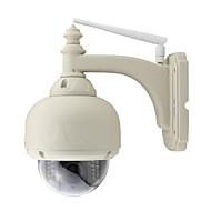 billige Utendørs IP Nettverkskameraer-1.0 MP Utendørs with IR-kutt Zoom 128(Dag Nat Bevegelsessensor Dobbeltstrømspumpe Fjernadgang Plug and play IR-klip) IP Camera