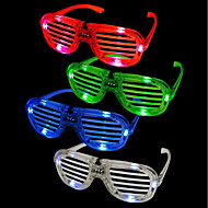 halpa -1kpl sävyt vilkkuvat led-lasit osapuoli hauska hankala loistelamppu valoisa rave pukujuhlat dj kirkas