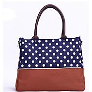 お買い得  ショルダーバッグ-女性用 バッグ オックスフォード ショルダーバッグ ジッパー ダークブルー / ダークグリーン / スカイブルー