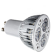 halpa -HRY 1kpl 9 W 600 lm GU10 LED-kohdevalaisimet 3 LED-helmet Teho-LED Koristeltu Lämmin valkoinen / Kylmä valkoinen 85-265 V / 1 kpl / RoHs