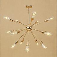 tanie -Sputnik Żyrandol Światło rozproszone Galwanizowany Metal Styl MIni, Regulowany, projektanci 110-120V / 220-240V Nie zawiera żarówek / E26 / E27