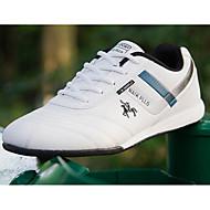 Miehet kengät Syksy Comfort Kävely varten Kausaliteetti Valkoinen Musta