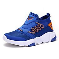 Jongens Schoenen Tule Herfst Winter Comfortabel Sneakers Veters Voor Causaal Zwart Groen Blauw