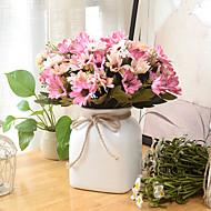 2 Gren Plastikk Kurvplante Bordblomst Kunstige blomster