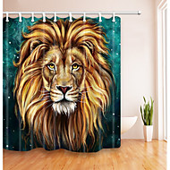 cheap Shower Curtains-Cotton/PolyesterMaterialwith High Quality Bathroom Set