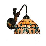 billige Bestelgere-diameter 20cm retro havfrue tiffany vegg lys skall skall skygge stue soverom lysarmatur