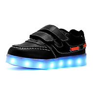Jongens Schoenen PU Lente Herfst Comfortabel Sneakers Voor Causaal Wit Zwart