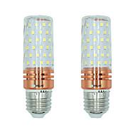 2 stuks 16W E27 LED-maïslampen T 84 leds SMD 2835 Warm wit Wit Dual Lichtbron Kleur 1300lm 3000-3500  6000-6500  3000-6500K AC 220-240V