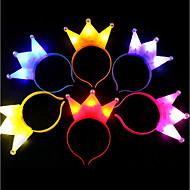 halpa -1kpl kevyt kruunu xmas johti kevyitä päähineitä puolueen pääpanta lapsille lahja ramdon väri