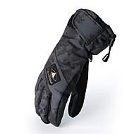 Unisex Skihandschuhe Vollfinger warm halten Schützend Sporthandschuhe Stoff Baumwolle Ski-Handschuhe Schnee Sport Winter