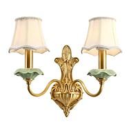 tanie Kinkiety Ścienne-Orientalny Etnické Minimalistyczny Lampy ścienne Na Metal Światło ścienne 110-120V 220-240V 5W