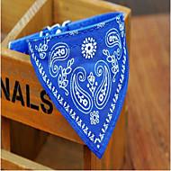 犬 カラー 折り畳み式 調整可能 フラワー レッド ブルー