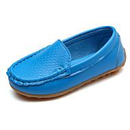 tanie Obuwie dziewczęce-Dla dziewczynek Obuwie Derma Wiosna / Jesień Comfort Mokasyny i pantofle na Yellow / Niebieski / Różowy