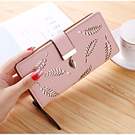 Women Bags PU Wallet Sequins for Event/Party Shopping All Seasons Blue Black Blushing Pink Almond Brown