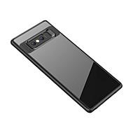 billiga Mobil cases & Skärmskydd-fodral Till Samsung Galaxy Note 8 Genomskinlig Skal Genomskinlig Mjukt TPU för Note 8