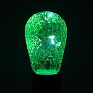 1 ks 1W E27 LED kulaté žárovky 12 lED diody SMD Ozdobné Teplá bílá Chladná bílá Modrá Zelená 100-200lm 2800-3200/6000-6500