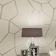 Χαμηλού Κόστους Ταπετσαρία-Στάμπα Αρχική Διακόσμηση Σύγχρονο Κάλυψης τοίχων, Μη υφαντό ύφασμα Υλικό κόλλα που απαιτείται ταπετσαρία, δωμάτιο Wallcovering
