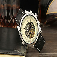 Men's Casual Watch Fashion Watch Dress Watch Wrist watch Automatic self-winding Calendar Leather Band Casual Cool