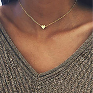 Dámské Srdce Přizpůsobeno Módní Euramerican Obojkové náhrdelníky Šperky Měď Obojkové náhrdelníky , Na den Denní Ležérní Açık Hava