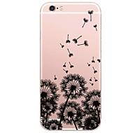 billiga Mobil cases & Skärmskydd-fodral Till Apple iPhone X iPhone 8 Plus Mönster Skal Landskap Maskros Mjukt TPU för iPhone X iPhone 8 Plus iPhone 8 iPhone 7 Plus iPhone