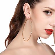 Dámské Visací náušnice Náušnice - Kruhy Velkoformátové Sexy Slitina Circle Shape Šperky Pro Párty Street