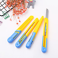 halpa -1 kpl muovinen opiskelija taide veitsi paperileikkuri toimistotarvikkeiden leikkaustyökalut