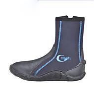 baratos -Sapatos para Água Homens Feminino Manter Quente Anti-Escorregar Ultra Leve (UL) Sintético Neoprene Borracha Mergulho Surfe