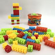 Stavební bloky Hračky Zvířata Animal Shape Cartoon tvaru Zvíře Zvířata Rodina Kabelky Cartoon Toy Kreslený design Udělej si sám 30 Pieces