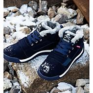 お買い得  紳士靴-男性用 靴 ピッグスキン / PUレザー 秋 / 冬 コンフォートシューズ ブーツ ブラック / レッド / ブルー