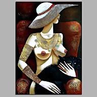Χαμηλού Κόστους Nude Art-Ζωγραφισμένα στο χέρι Δερματί Κάθετο, Μοντέρνα Καμβάς Hang-ζωγραφισμένα ελαιογραφία Αρχική Διακόσμηση Μονόπτυχα